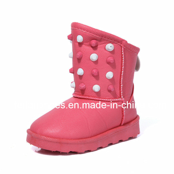 New Arrival Children Warm Snow Boots with Good Quality (FFSB-8) pictures & photos