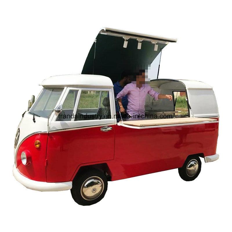 China Hot Sale VW Combi Ice Cream Machine Food Trucks Mobile