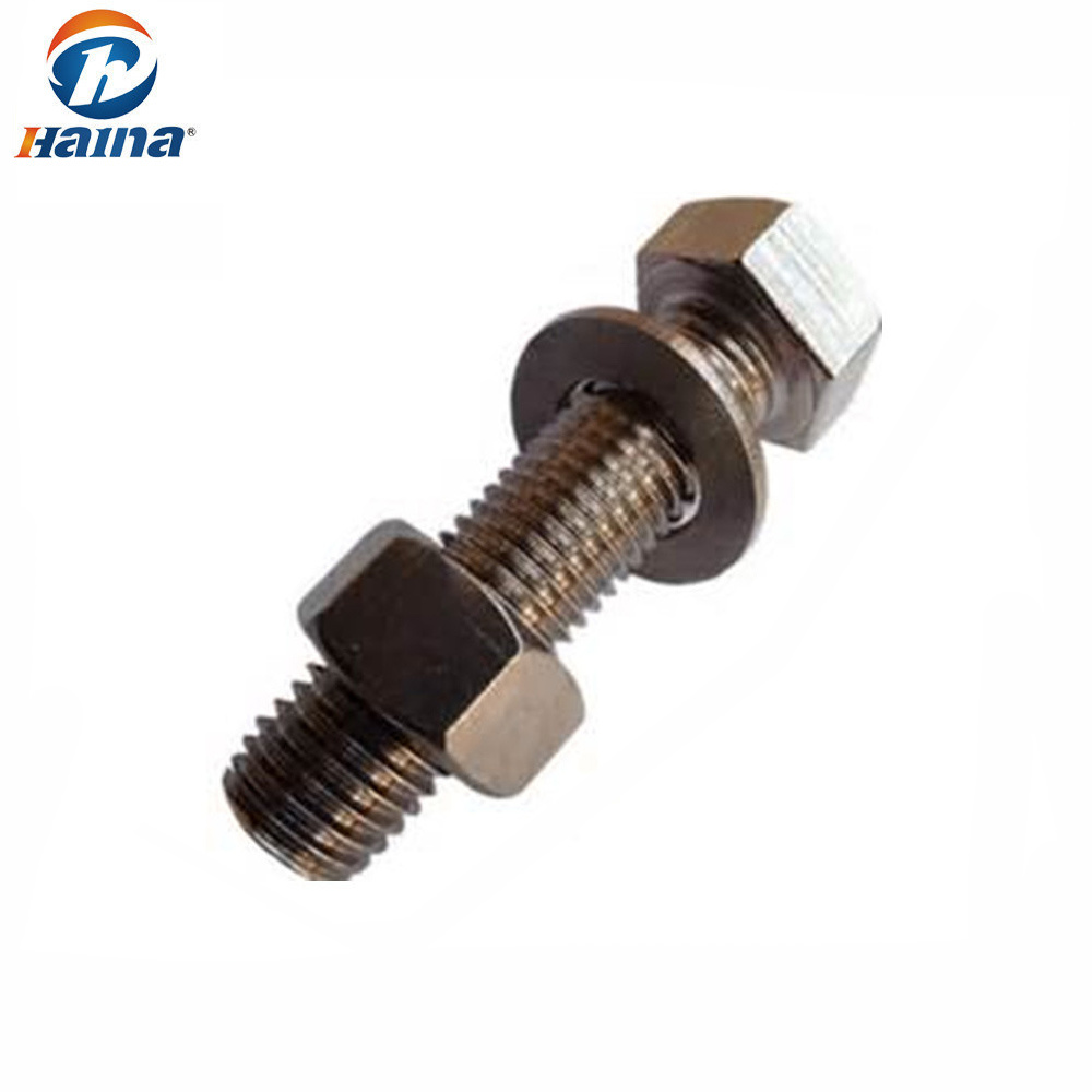 Bolt And Washer >> Hot Item Standard Fastener Hex Bolt Nut And Washer
