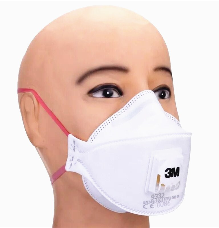 hot 3m9332 Mask Face Particulate Mist Dust Loop Neck Item Respirator