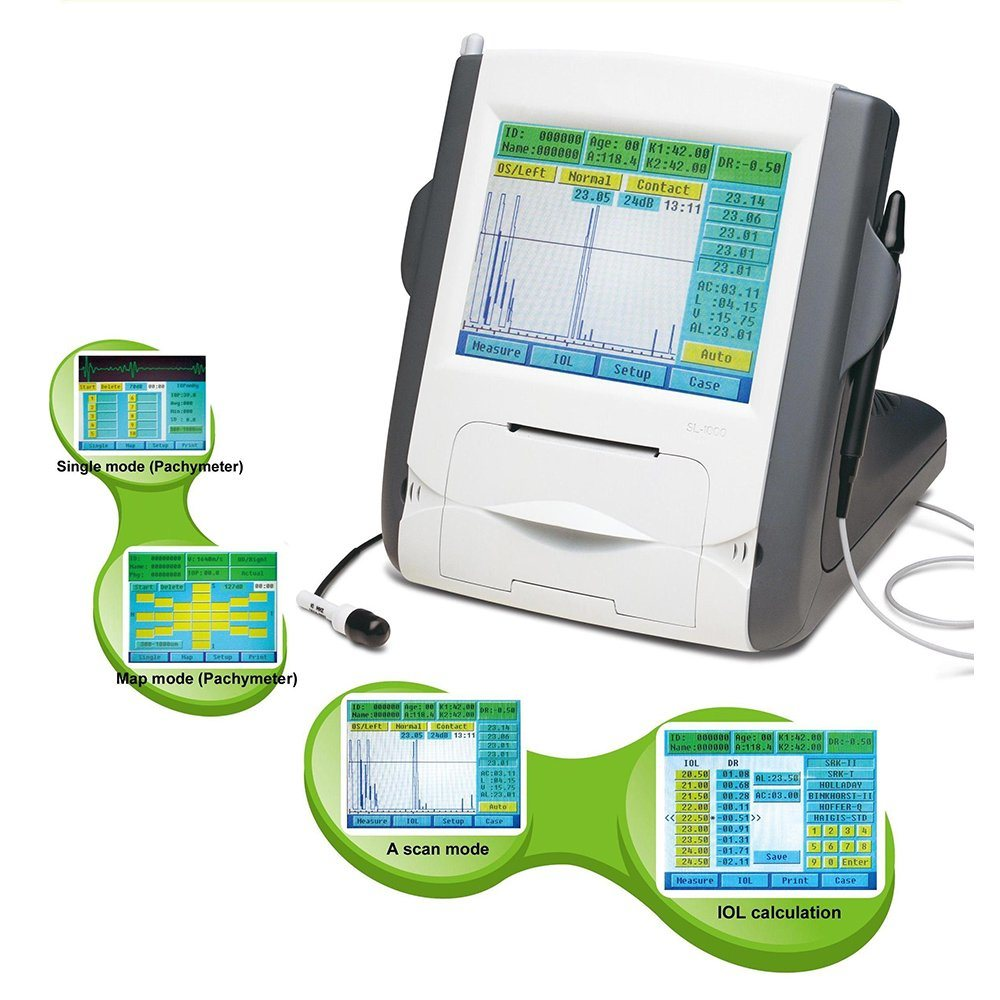 [Hot Item] Supplier Medical China Ophthalmic a/B Scan Eye Test Machine