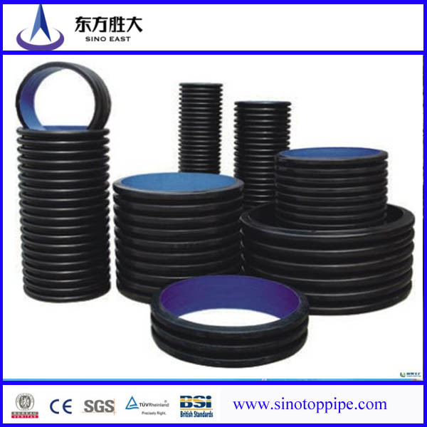 Hot Sale Double Wall Corrugated Pipes and Fittings From China