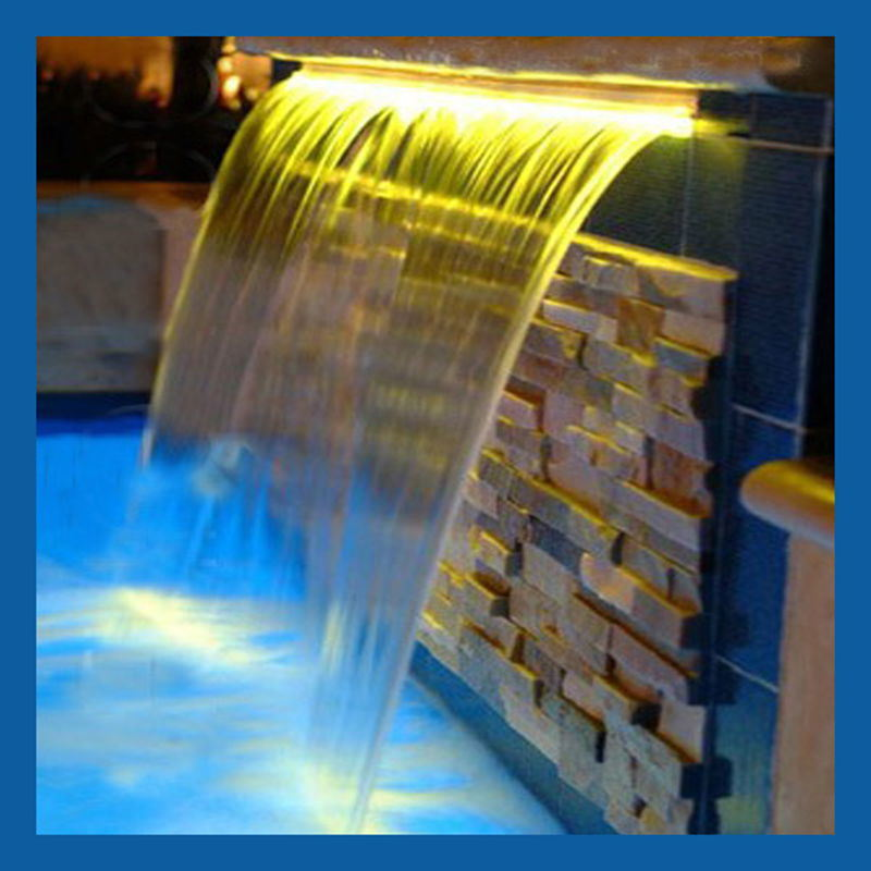 China Sheer Descent For Water Sheet Fountain Water Blade
