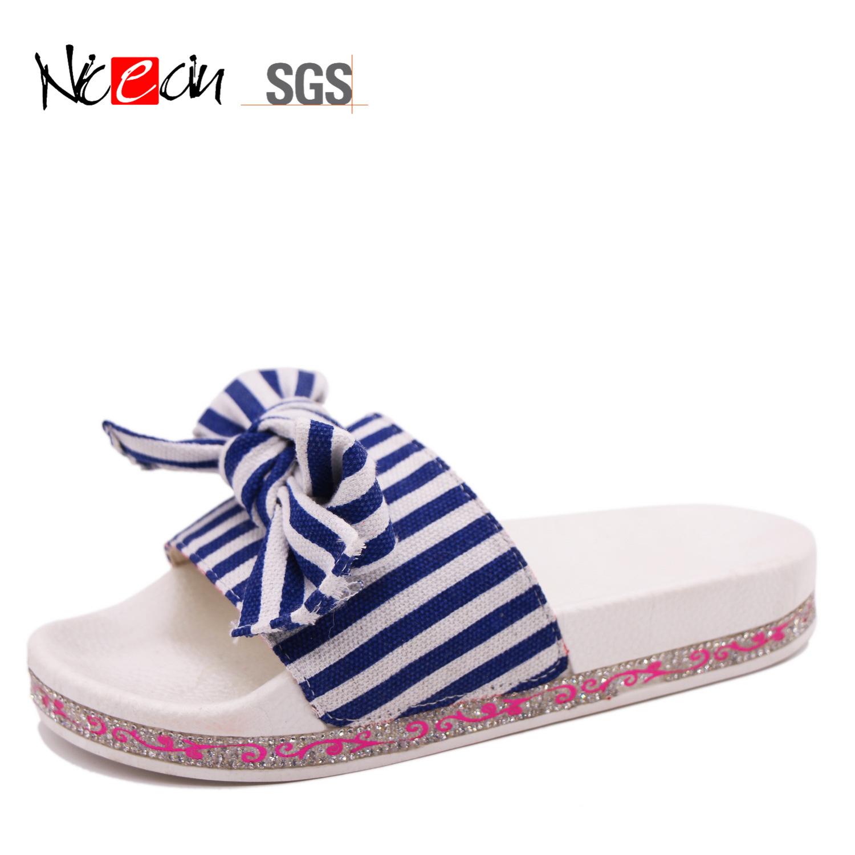 White Blue Stripe Fashion OEM China