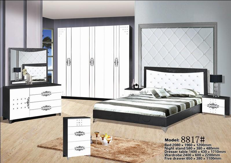 China High Quality Mdf Bedroom Furniture With Low Price