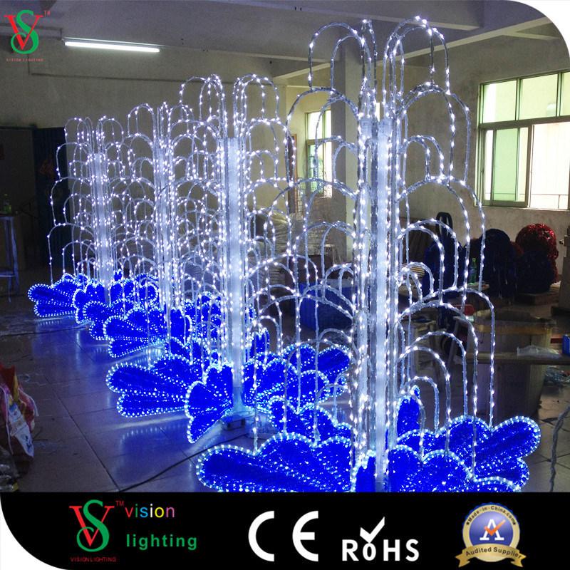 Hot Item 220v Customized Sculpture Decoration Flashing Garden Light Carnival