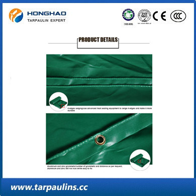 PVC Lumber Waterproof Tarps/Tarpaulins Durable Fabric