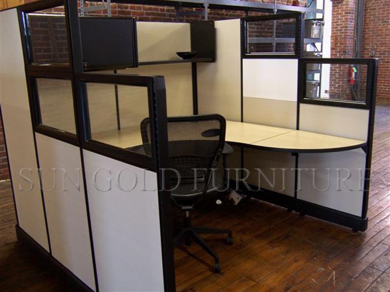 China Low Computer Desk Fashion Design Stylish Partition Sz Ws180