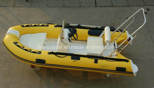 2015 New Model 3.6m Rigid Inflatable Boat Rib360b Rubber Boat Hypalon with CE Fishing Boat