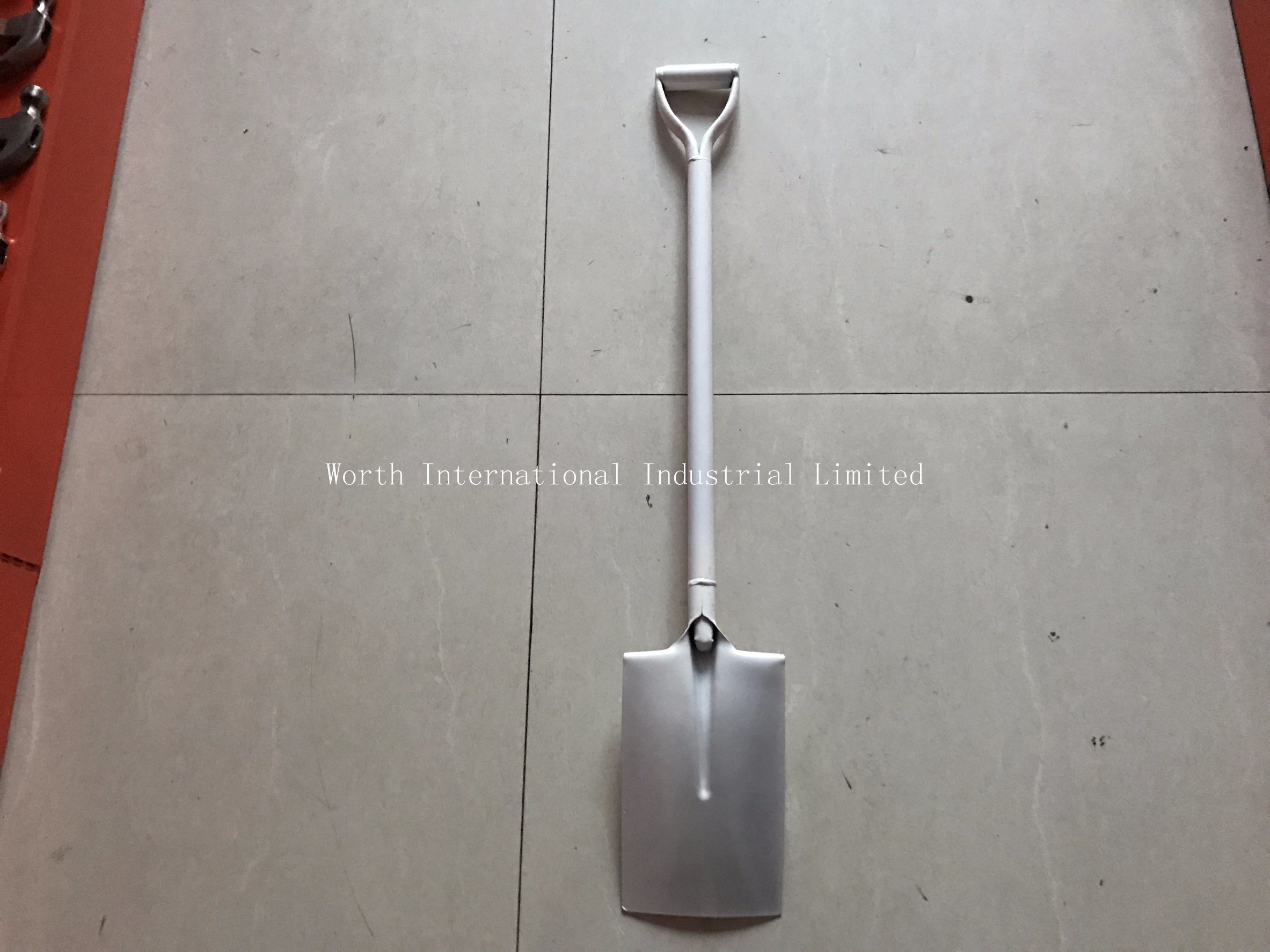 Steel D Grip Steel Handle Shovel pictures & photos