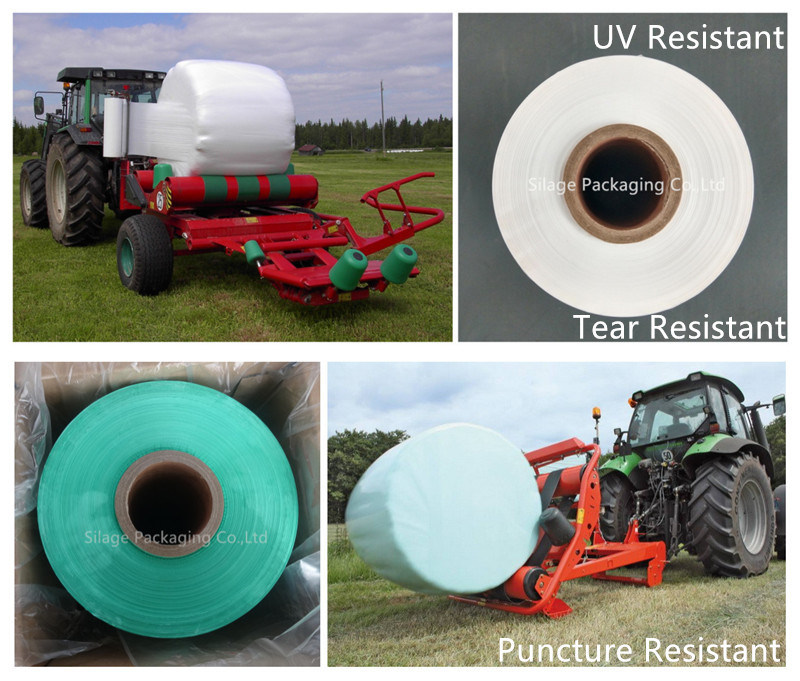 Blown Bale Machine Equip LLDPE Silage Wrap Film Silage Stretch Film pictures & photos