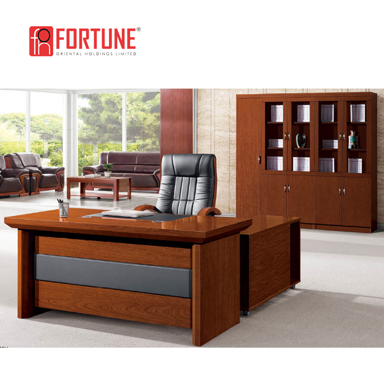 Executive Leather Top Office Tables
