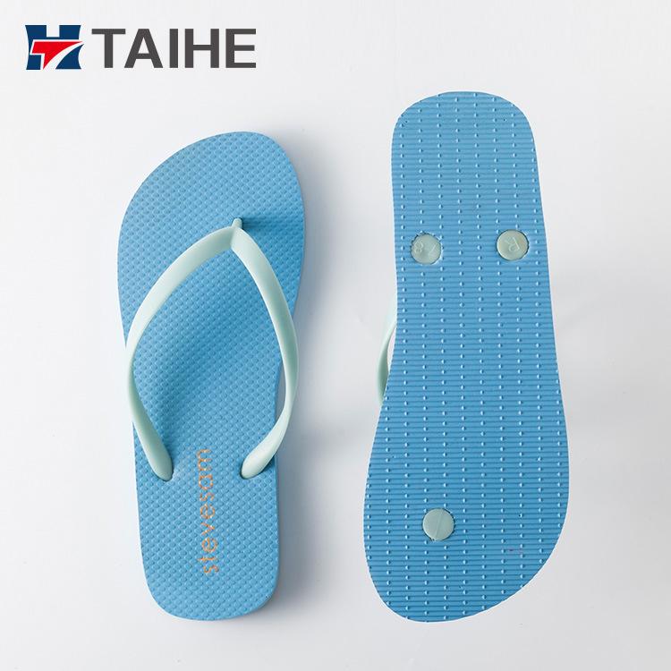 fe41ee0fc0e78d Customized Wholesale PVC Outdoor Men Slippers Women Rubber Flip Flops