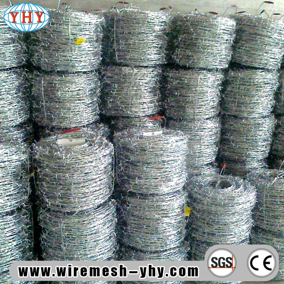 China Galvanized Barbed Wire Price Per Ton Barbed Wire Fencing ...