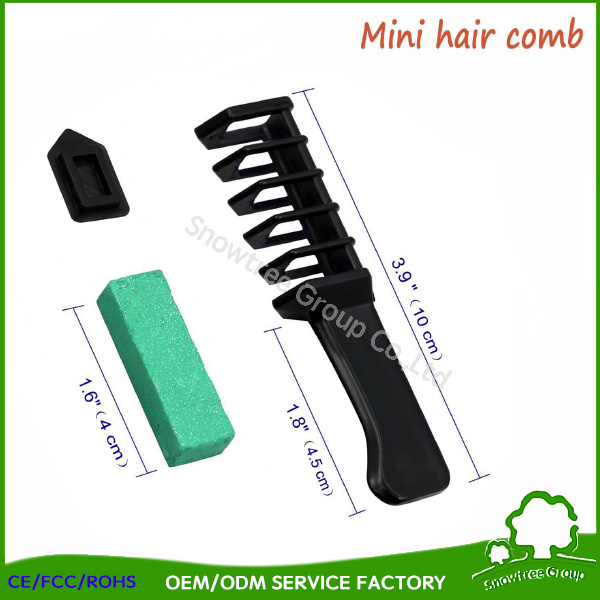 China Without Chemicals Hair Color Dye Chalk The Black Magic Combs ...