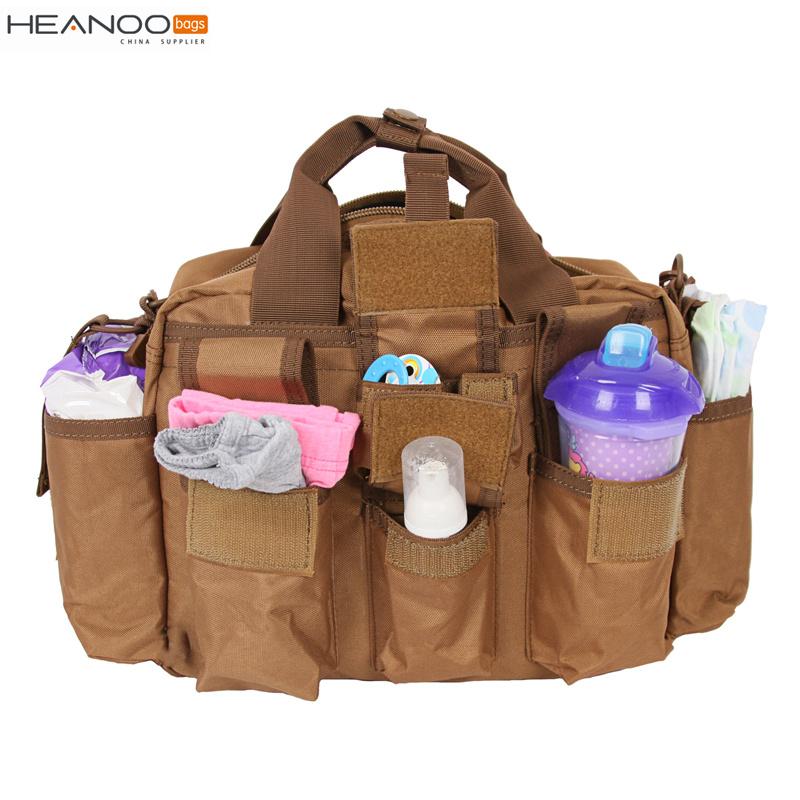 Hot Item Brown Shoulder Messenger Toddler Baby Ny Mens Tactical Diaper Bag