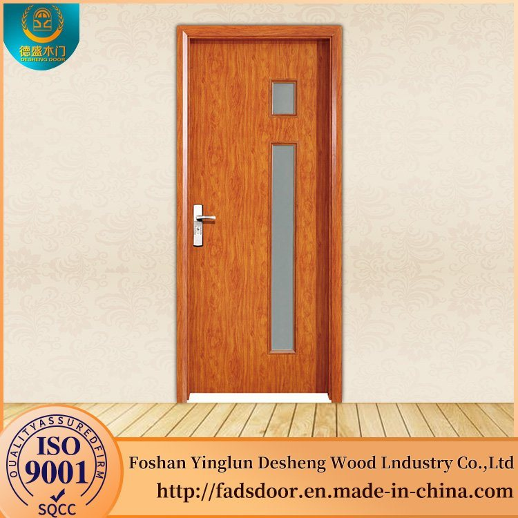 Hot Item Desheng House Interior Door Kerala Designs Solid Teak Wood Door Price With Glass
