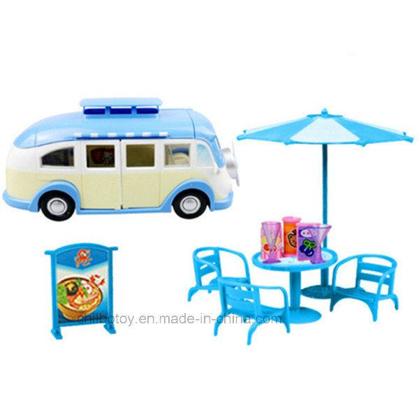 China Mini Pretend Play Kitchen Set Children Dining Car Toy Photos