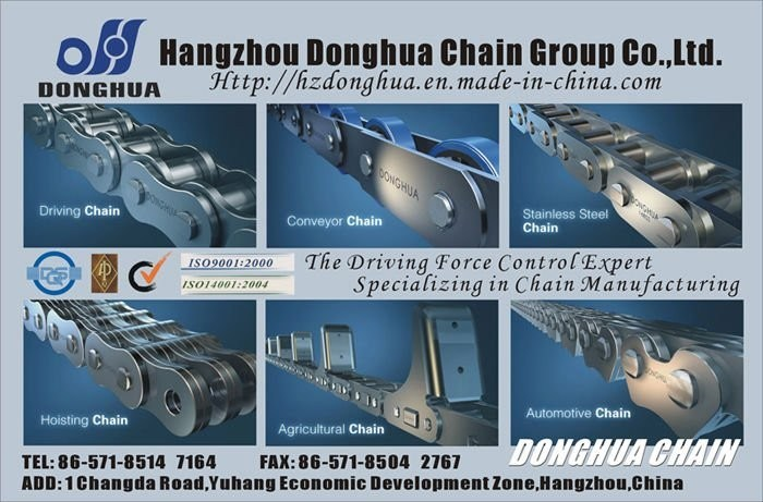 ISO16949: 2009 Approved Industrial Chain pictures & photos
