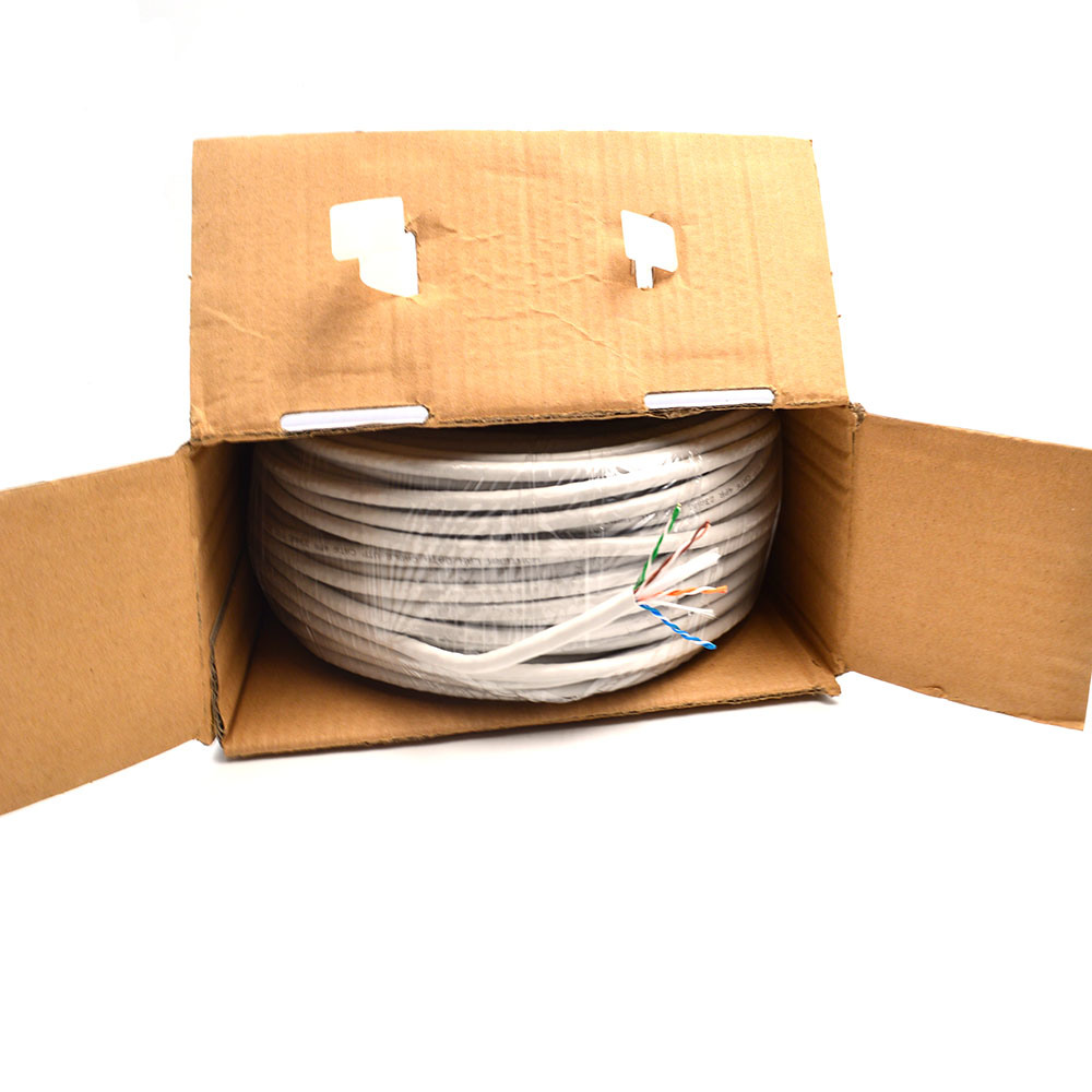 Network LAN Cable CAT6 UTP 305m Bc CCA Cu DC LAN Cable in All Departments 100m