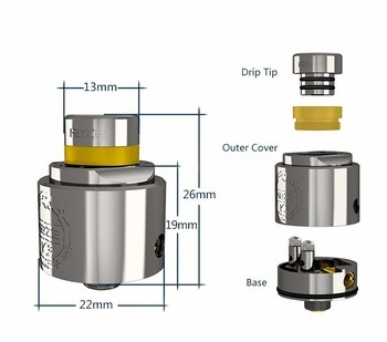 2017 Hcigar New Atomizer Hcigar Maze V3 Rda with Factory Price