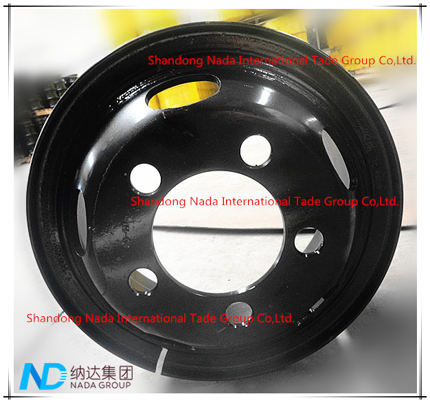 6.00G-16 Tube Rim TBR Truck Steel Wheel with TS16949/ISO9001: 2000