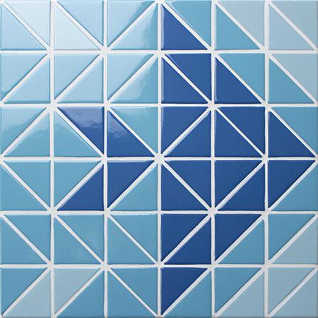 China Professional Design Ceramic Triangle Swimming Pool ...