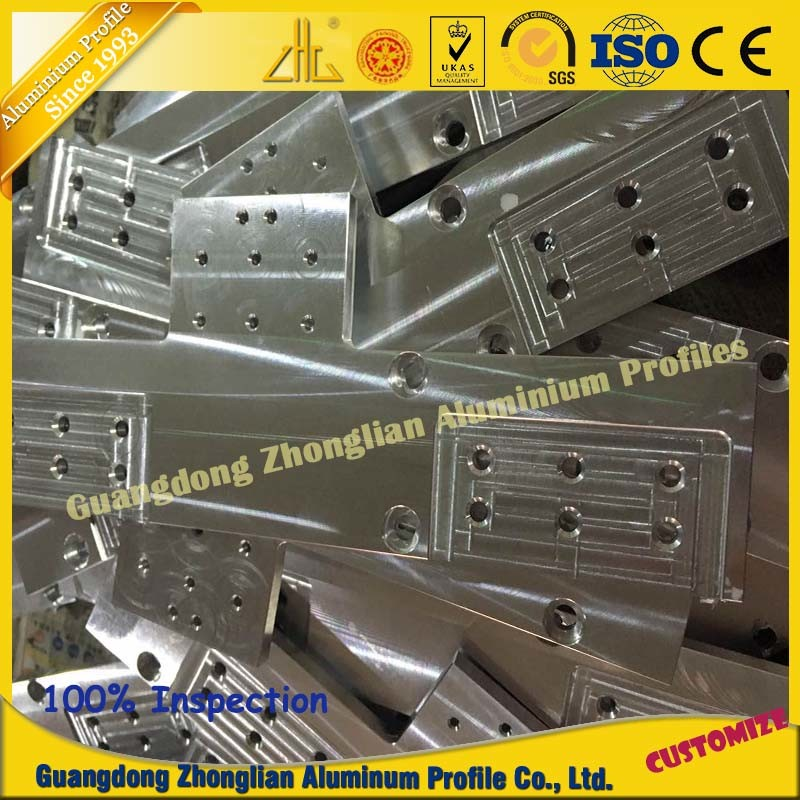 Factory Customized Aluminum Extrusion Profile CNC pictures & photos
