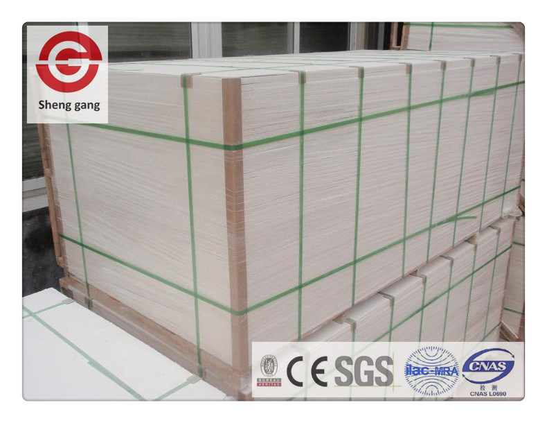 Asbestos Free Decoration Material Mgo Board Fireproof For Fireplace