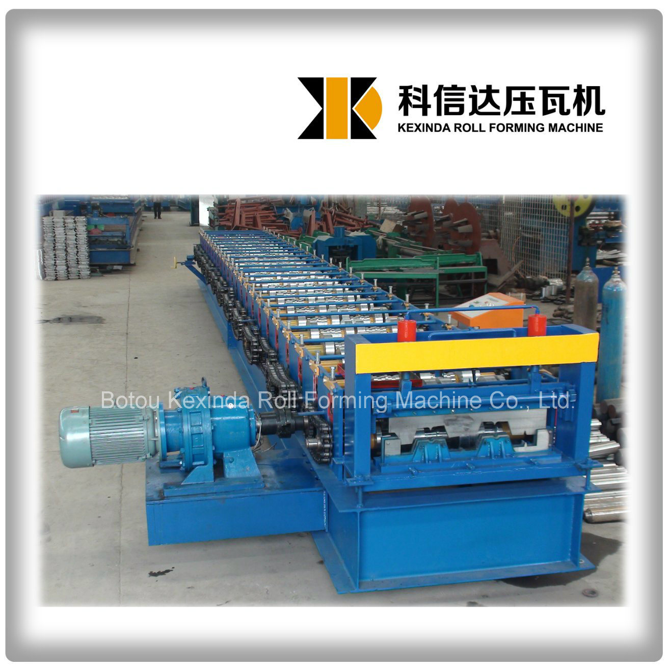 China Kxd 688 Floor Decking Roll Forming Machine Floor Tile Forming