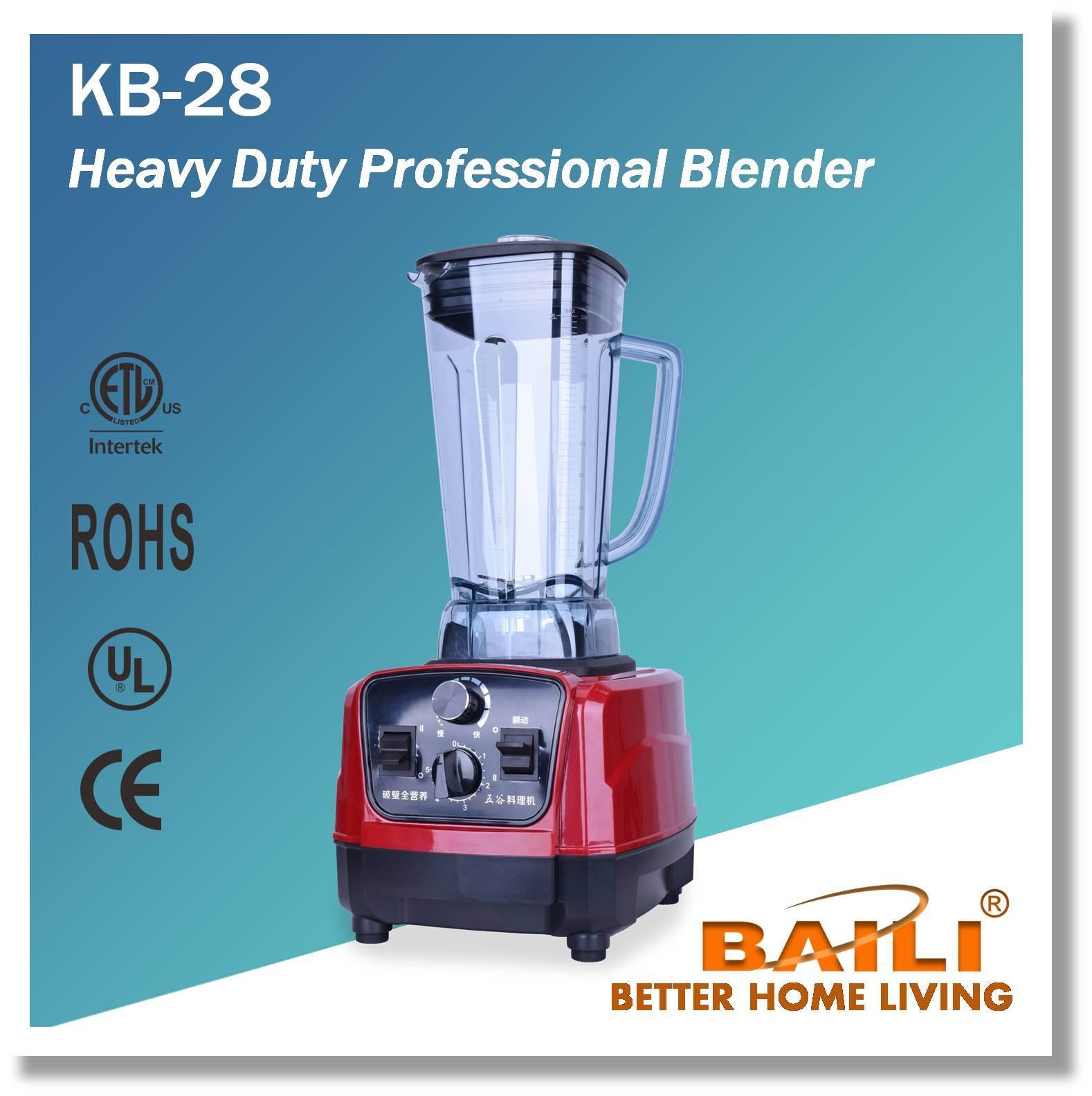 China Heavy Duty Professional Blender - China Multi-Funtional ...