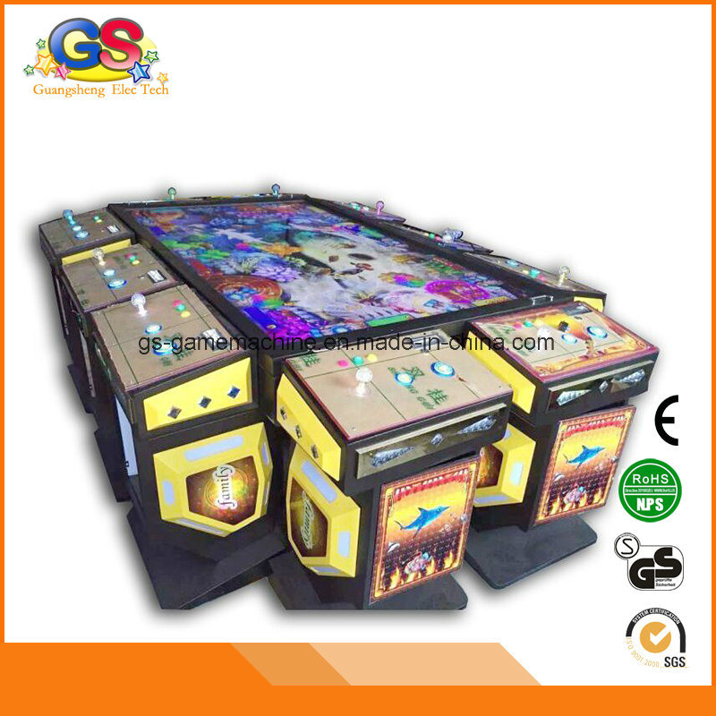 Arcade Fishing Game Table Bar Game Machine Coin Operated for Sale