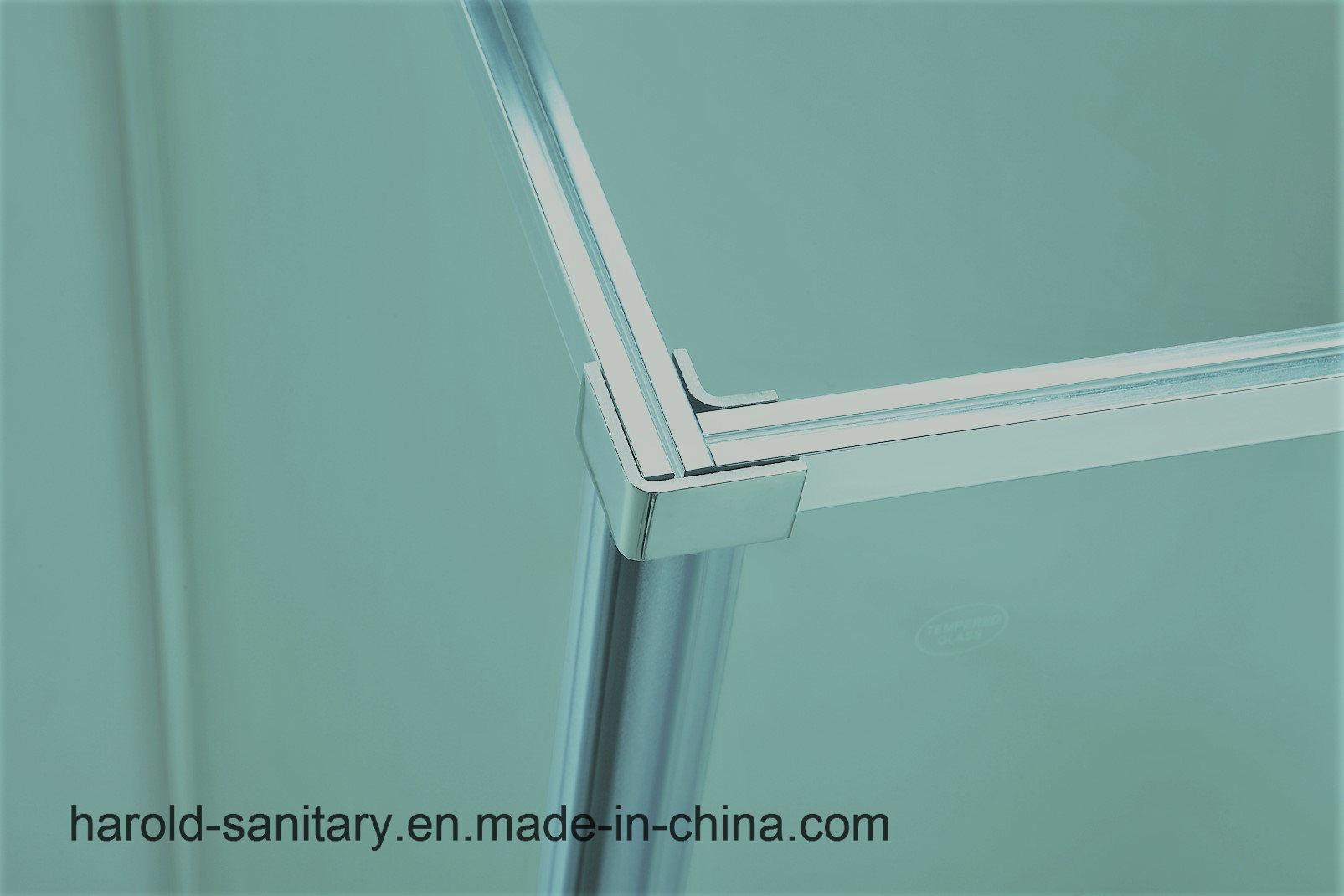 China Extended Length Pivot Hinge 6mm Framed Shower Enclosure Photos ...