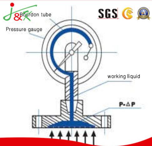 [Hot Item] Diaphragm-Seal Manometer Pressure Gauge with Stainless Steel