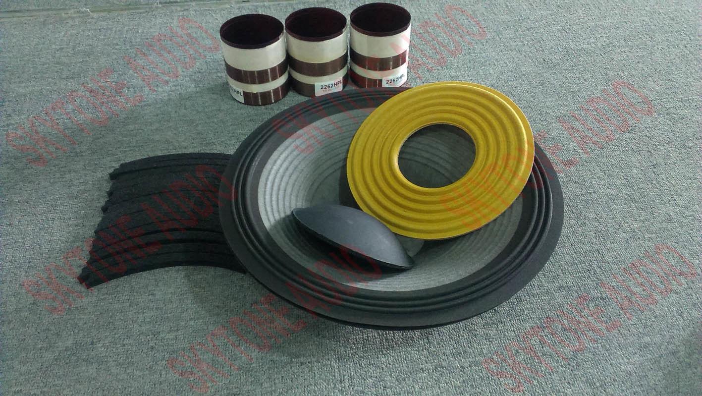 China 15′′ 2265HPL Neodymium Dual Voice Coil Speaker Woofer Photos ...