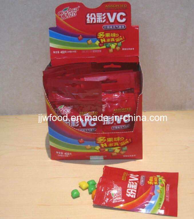 Coolsa Rainbow Vitamin C Sweets Chew Candy pictures & photos