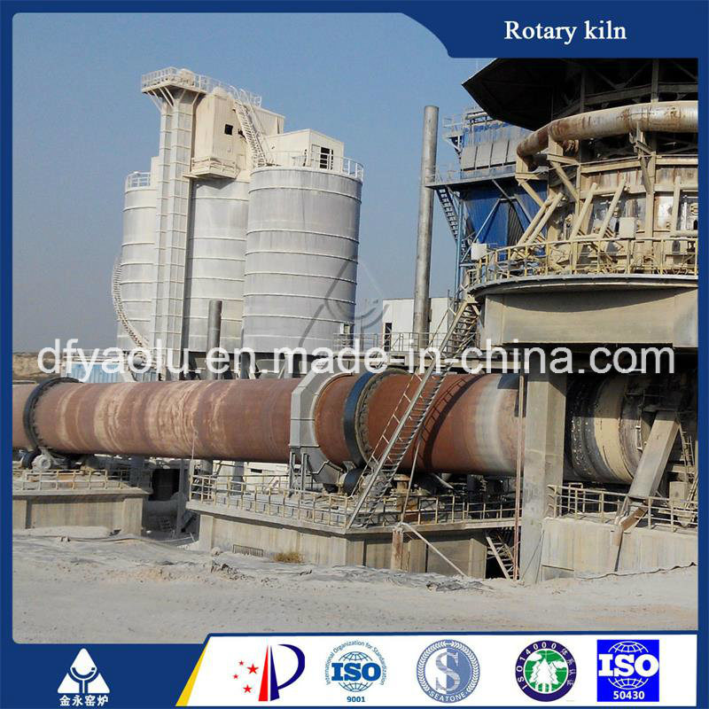 High Efficient Energy Saving 600tpd Rotary Lime Kiln