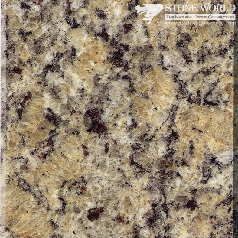 Polished Santa Cecilia Granite Tiles