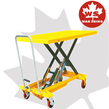 500kg Hydraulic Scissor Lift Table with Extra Large Plate pictures & photos