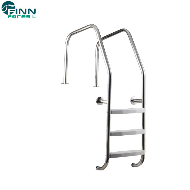 [Hot Item] Stainless Steel or Plastic Pedal 2/3/4/5 Steps Swimming Pool  Ladder
