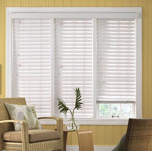 50mm Wood Venetian Blinds/Modern Office Wooden Blinds pictures & photos