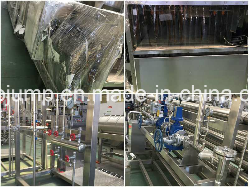 Nature Fruit Jam Production Line/Fruit Juice Processing Machinery