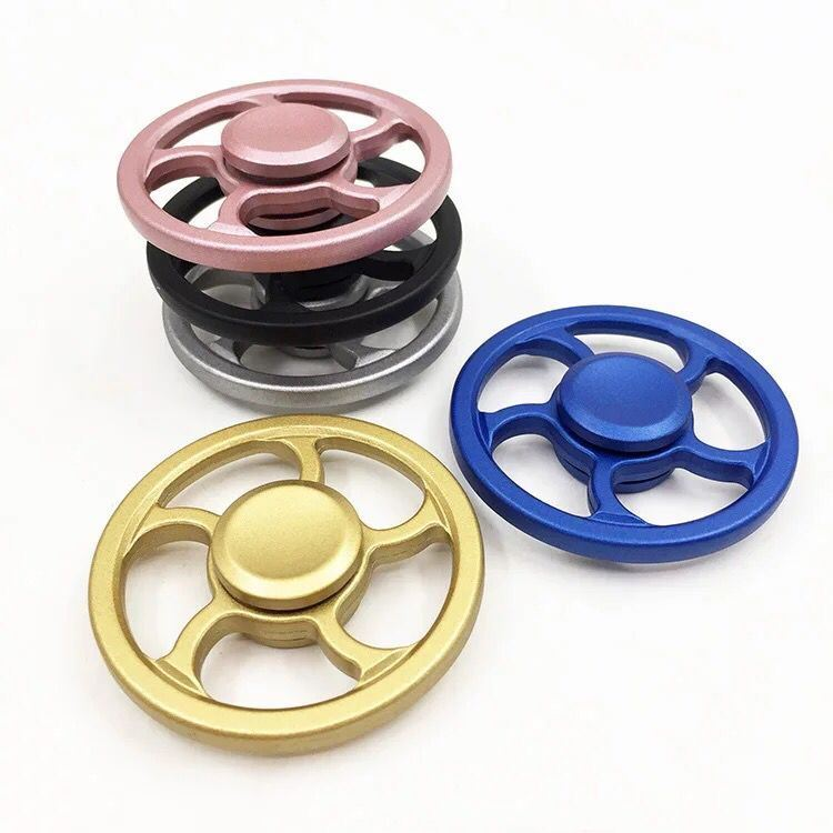 Top Quality Hand Toy Fidget Spinner Turning 8 Mins at Stock pictures & photos