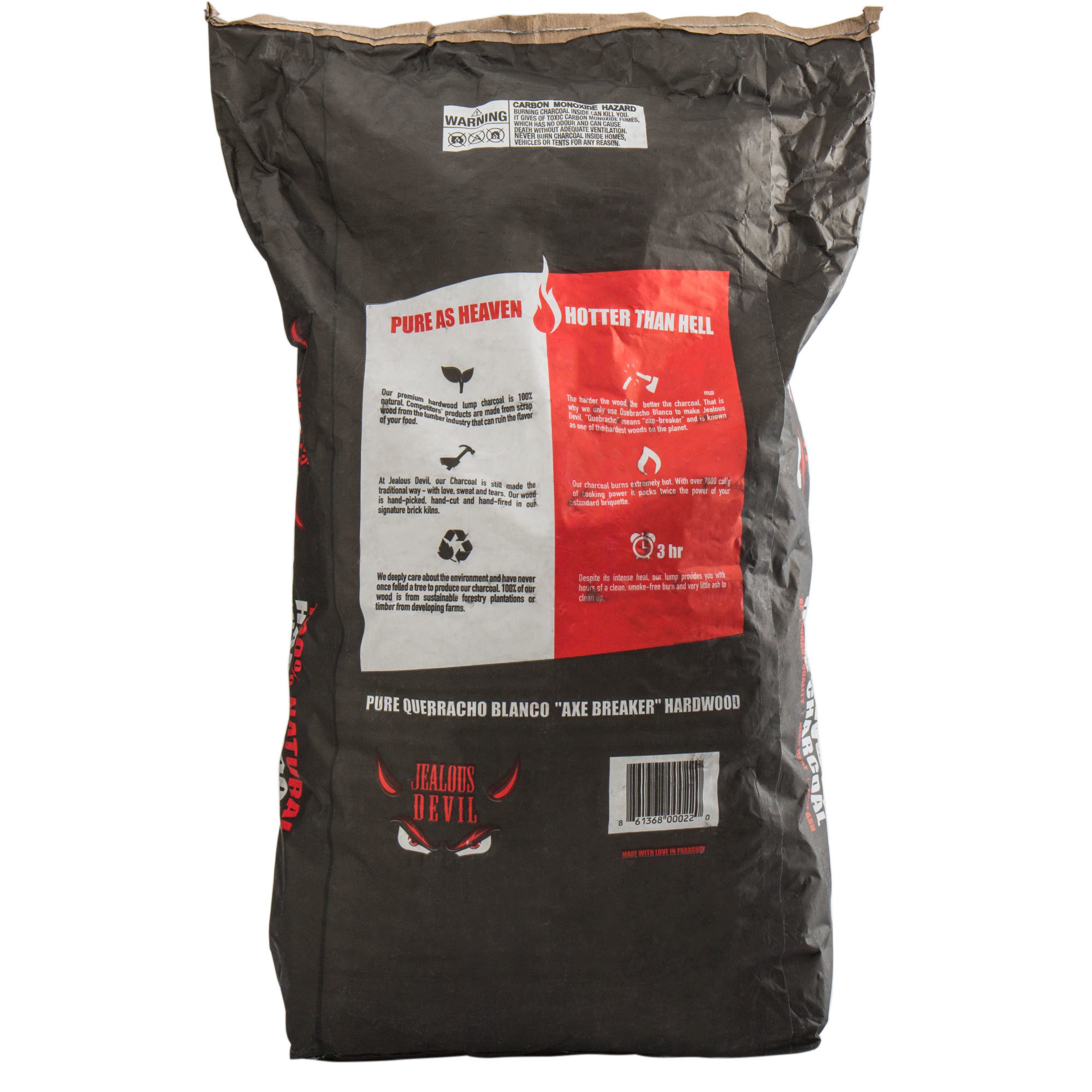 China 5kg 11lb Charcoal Bag Double Brown Kraft Paper
