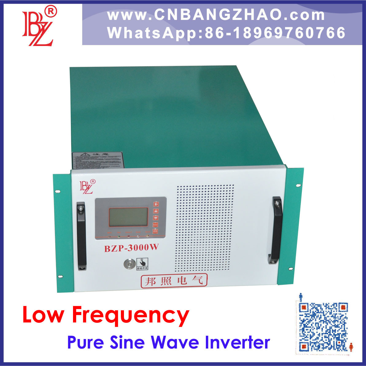 China Single Phase To Three 3000w Home Electric Converter With The Circuit Of A Inverter Rack Type Voltage