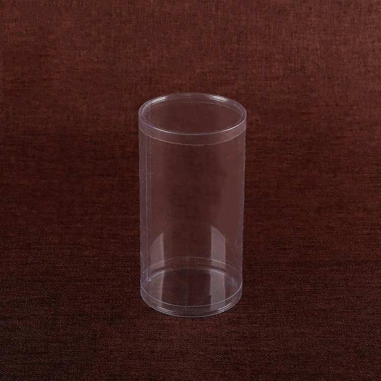eco-friendly plastic packaging clear round gift/jewellery cylinder box(PVC box)