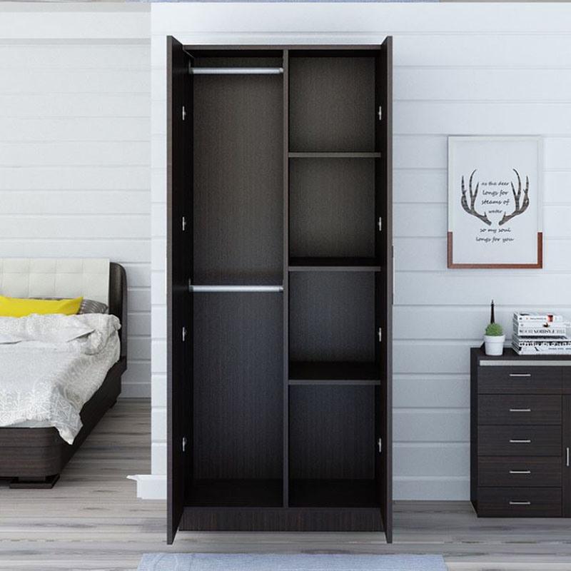 China Double Door Indian Bedroom Wardrobe Design in ...