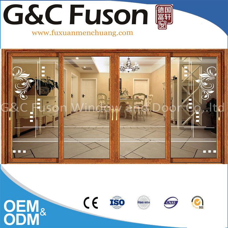 China Aluminum Alloy Lift Sliding Patio Doors With German Hardware