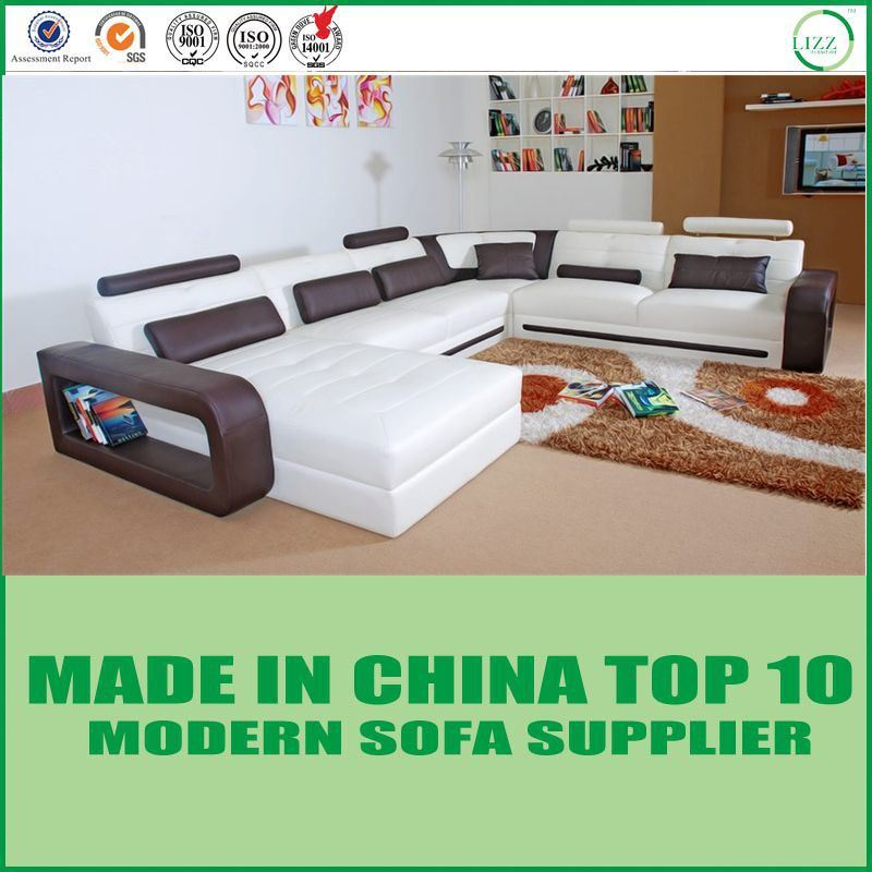[Hot Item] Best Selling Lounge Leisure Leather Sofa Set