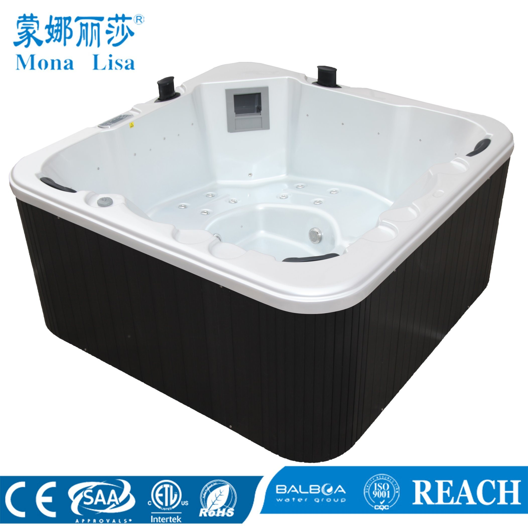 China Outdoor Free Standing Hydro Aqua Air Bubble Jets Whirlpool ...